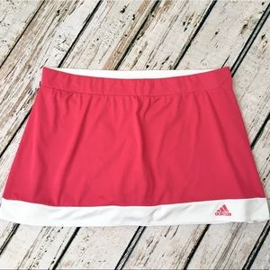 Adidas Climalite Tennis Skort Skirt Large Active